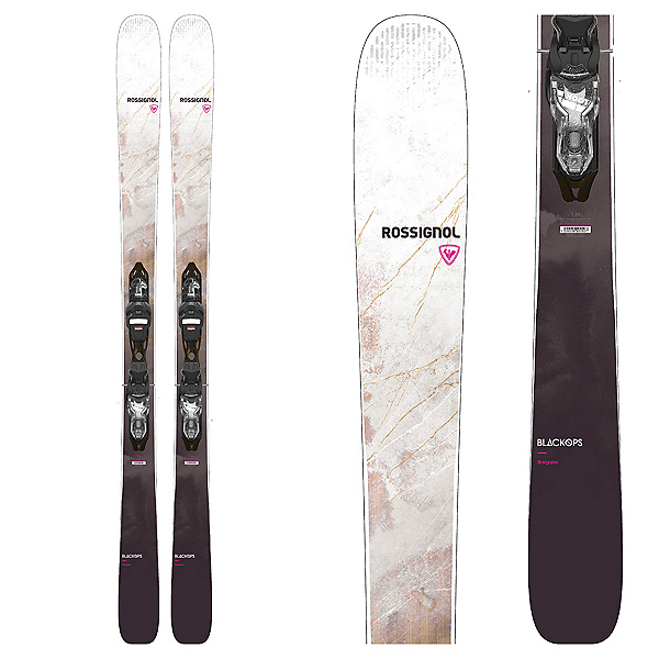 Rossignol BlackOps Stargazer Womens Skis with Xpress 11 GW Bindings, , 600