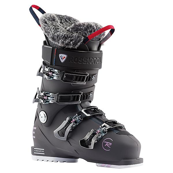 Rossignol Pure Elite 90 Womens Ski Boots, Graphite, 600