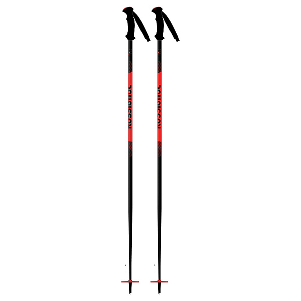 Rossignol Tactic Jr. Kids Ski Poles, Red, 600