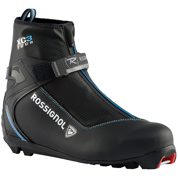 Rossignol XC3 FW Womens NNN Cross Country Ski Boots, Black, 600