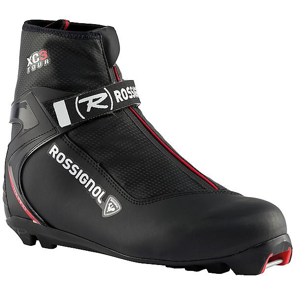 Rossignol XC3 NNN Cross Country Ski Boots, Black, 600