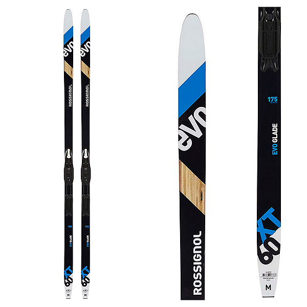 Rossignol EVO XT 60 Cross Country Skis with Tour Step In Bindings, , 600