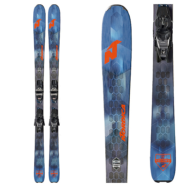 Nordica Navigator 85 CA Skis with Free 11 FDT Binding 2020, , 600