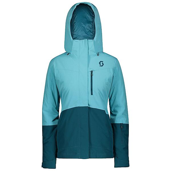 Scott Ultimate Dryo 10 Womens Insulated Ski Jacket, Bright Blue-Majolica Blue, 600