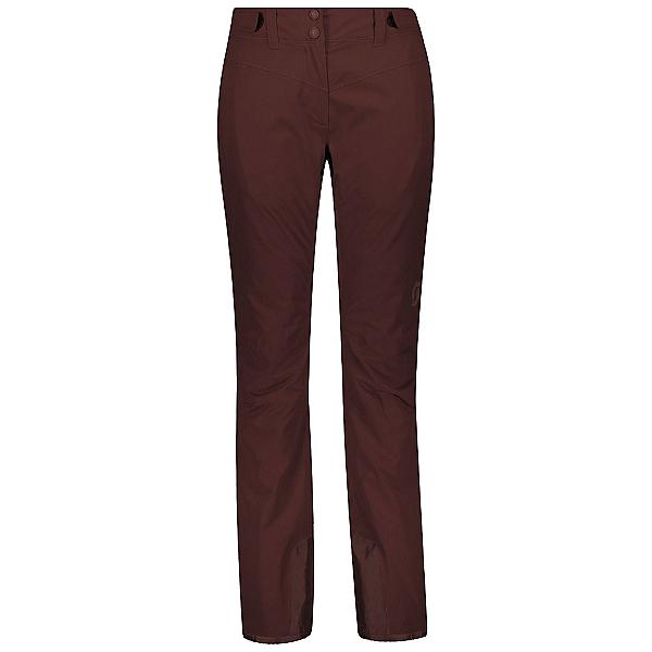 Scott Ultimate Dryo 10 Womens Ski Pants, Red Fudge, 600