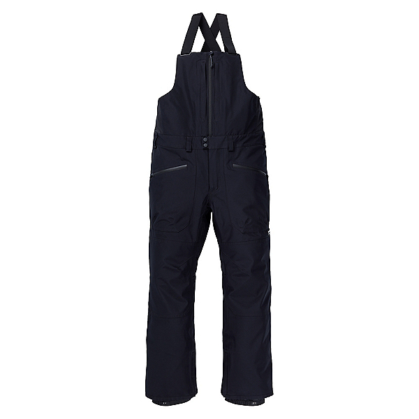 Burton Gore-Tex Reserve Bib Mens Snowboard Pants, True Black, 600