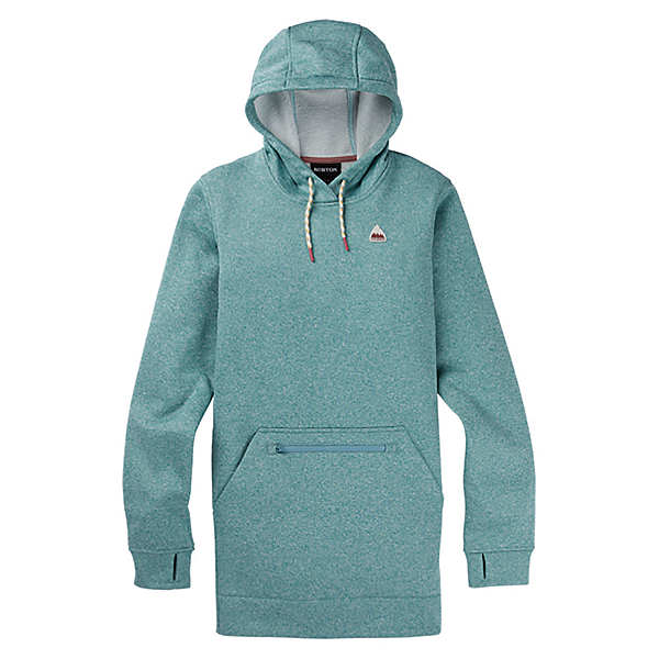 Burton Oak Long Womens Hoodie, Trellis Heather, 600