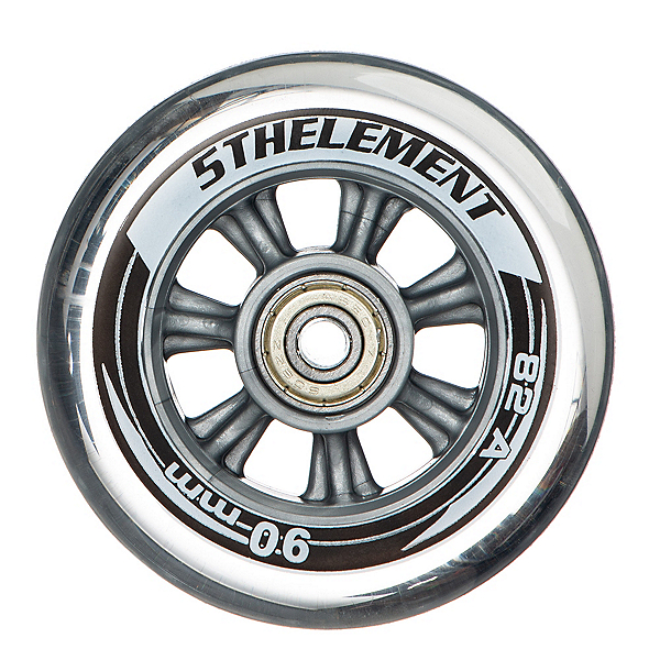 5th Element 90mm - 8 Pack Inline Skate Wheels with ABEC 7 Bearings, , 600