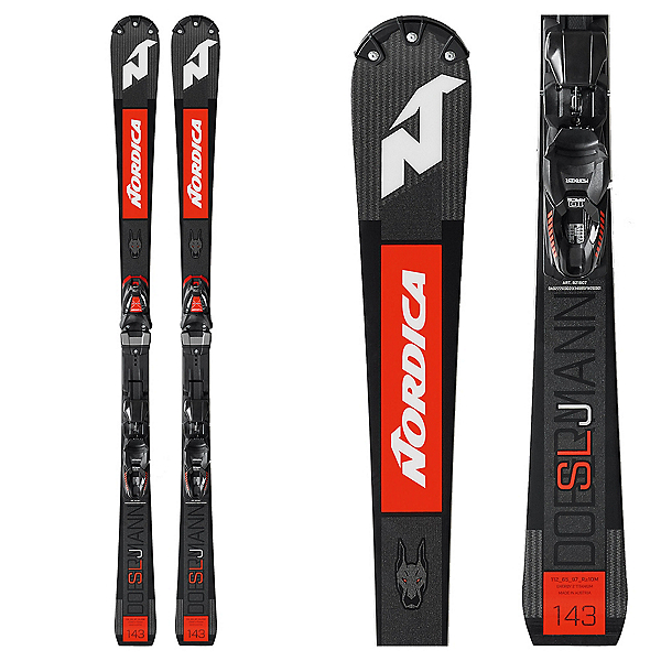 Nordica Dobermann SLJ Junior Race Skis, , 600