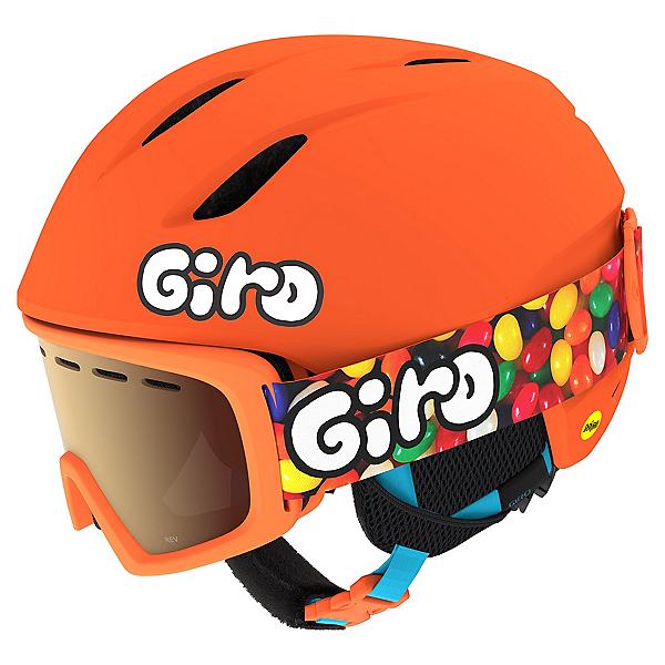 Giro Launch Combo Pack Kids Helmet, Matte Bright Orange-Jelly, 600