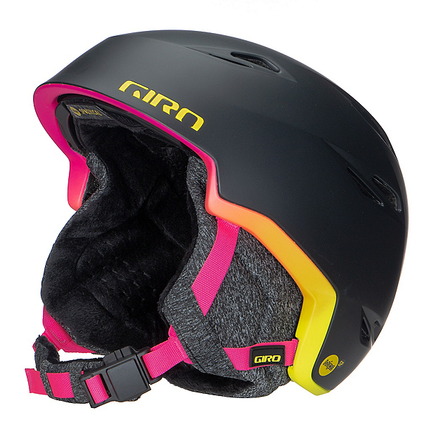 Giro Envi MIPS Womens Helmet, Matte Black-Neon Lights, 600