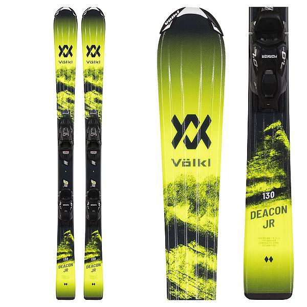 Volkl Deacon Jr. Kids Skis with vMotion 4.5 Jr. Bindings 2022, , 600
