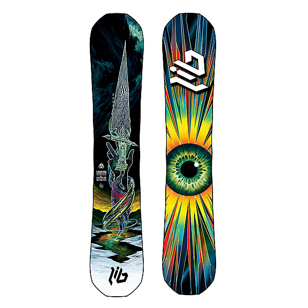 Lib Tech T.Rice Pro HP Snowboard, Blunt, 600