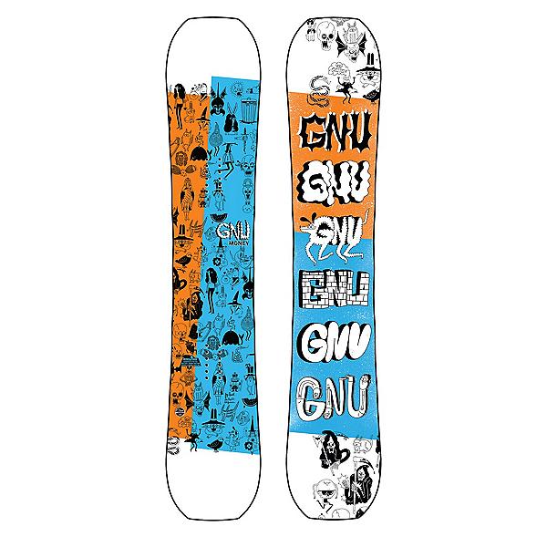 Gnu Money Snowboard, , 600