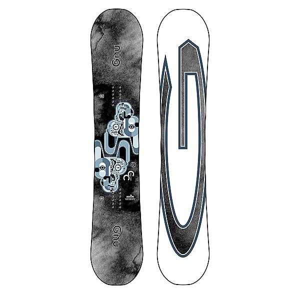 Gnu Carbon Credit Asym Wide Snowboard, , 600