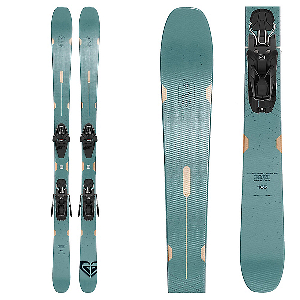 Roxy Dreamcatcher 85 Womens Skis with Lithium 10 GW Bindings, , 600