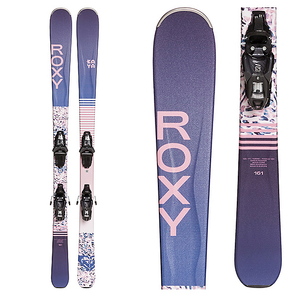 Roxy Kaya 77 Womens Skis with Lithium 10 GW Bindings, , 600