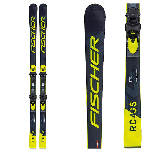 Fischer RC4 WC GS MO-Plate Junior Race Skis, , 600