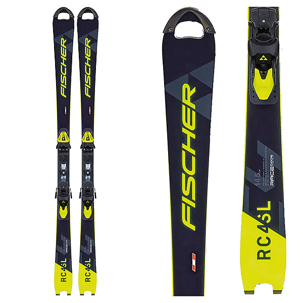 Fischer RC4 WC SL MO Plate Junior Race Skis, , 600