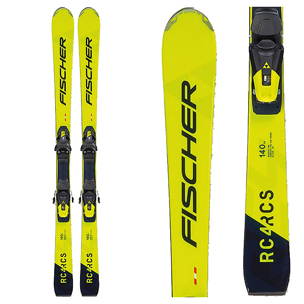Fischer RC4 RCS Junior Race Skis with RC4 Z9 GW Bindings, , 600