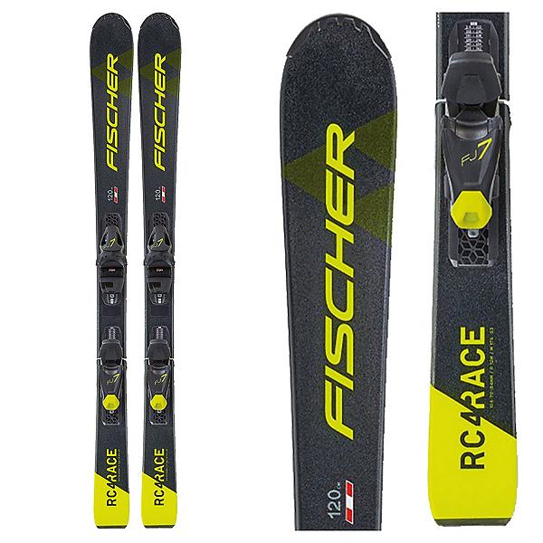 Fischer RC4 Junior Race Skis with FJ7 GW AC SLR Bindings, , 600