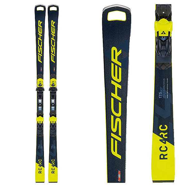 Fischer RC4 WC RC Pro Race Skis with RC4 Z13 Freeflex Bindings, , 600