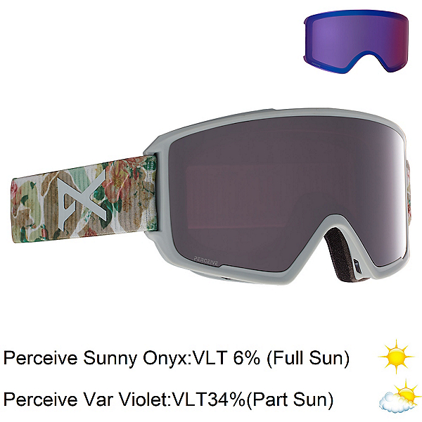 Anon M3 Goggles 2021, Camo-Perceive Sunny Onyx + Bonus Lens, 600