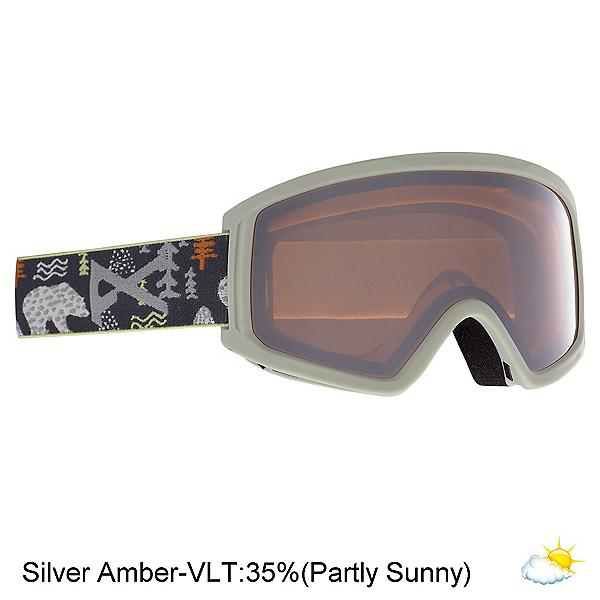 Anon Tracker 2.0 Kids Goggles, Pb Gray-Silver Amber, 600