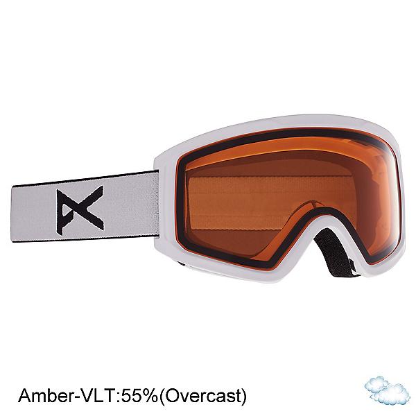 Anon Tracker 2.0 Kids Goggles, White-Amber, 600
