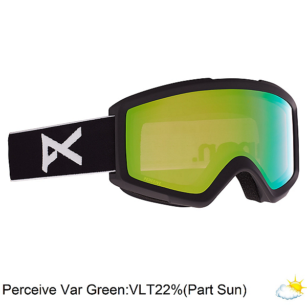 Anon Helix 2.0 Perceive Goggles, Black-Perceive Variable Green, 600