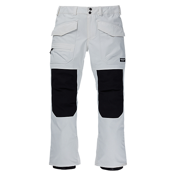 Burton Southside Mens Snowboard Pants, Stout White, 600