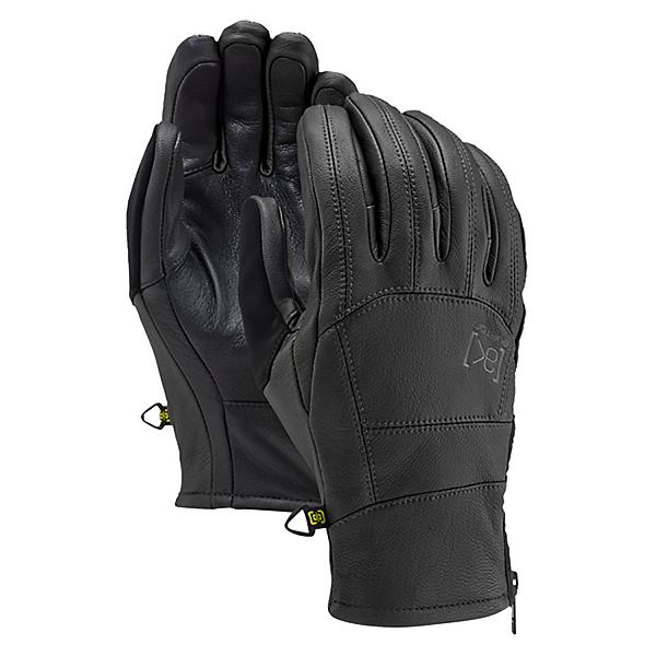 Burton AK Leather Tech Gloves, True Black, 600