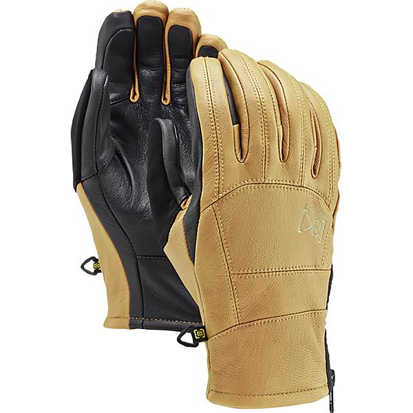 Burton AK Leather Tech Gloves, Raw Hide, 600