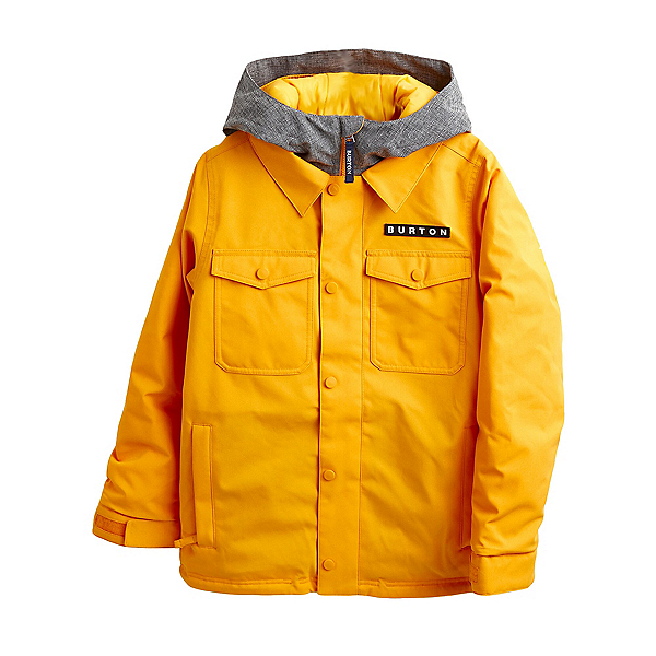 Burton Uproar Boys Snowboard Jacket 2022, Cadmium Yellow, 600