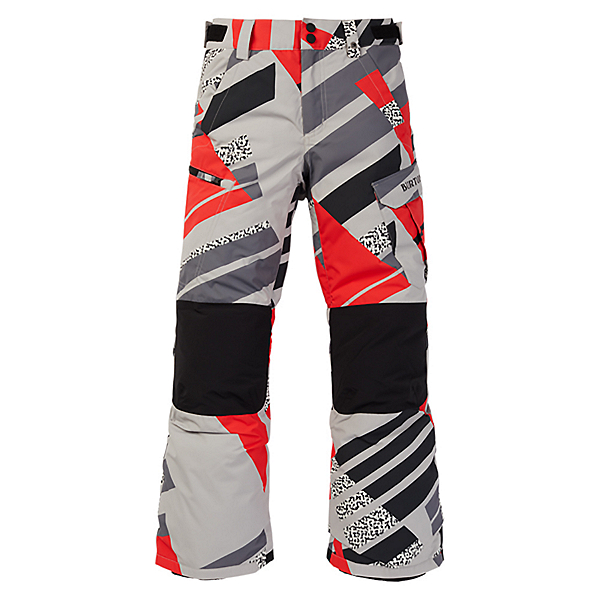 Burton Exile Cargo Kids Snowboard Pants 2021, Bold Throwback, 600