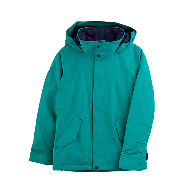 Burton Elodie Girls Snowboard Jacket, Dynasty Green, 600