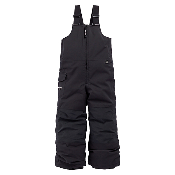 Burton Maven Bib Toddler Boys Ski Pants 2022, True Black, 600