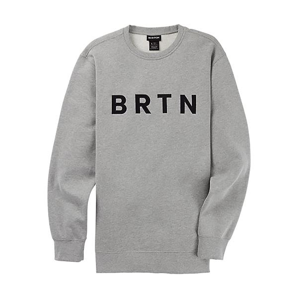 Burton BRTN Crew Sweatshirt, Gray Heather, 600