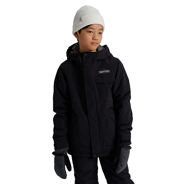 Burton Dugout Boys Snowboard Jacket, True Black, 600