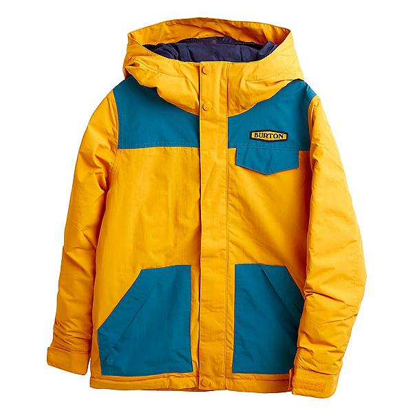 Burton Dugout Boys Snowboard Jacket 2022, Cadmium Yellow, 600