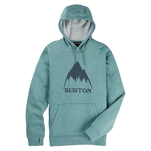 Burton Oak Pullover Mens Hoodie, Trellis Heather, 600
