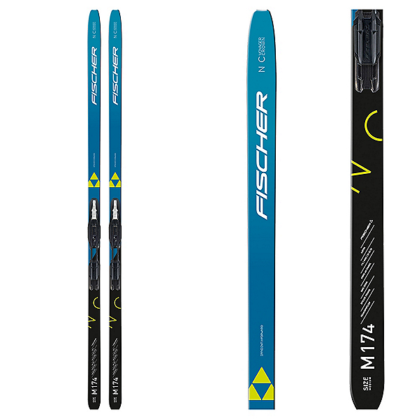 Fischer Voyager EF Crown Cross Country Skis with Tour Step In Bindings, , 600