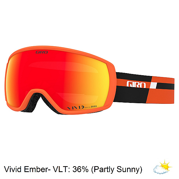 Giro Balance Goggles, Orange Black Podium-Vivid Embe, 600