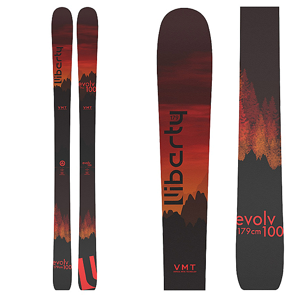 Liberty Skis Evolv 100, , 600