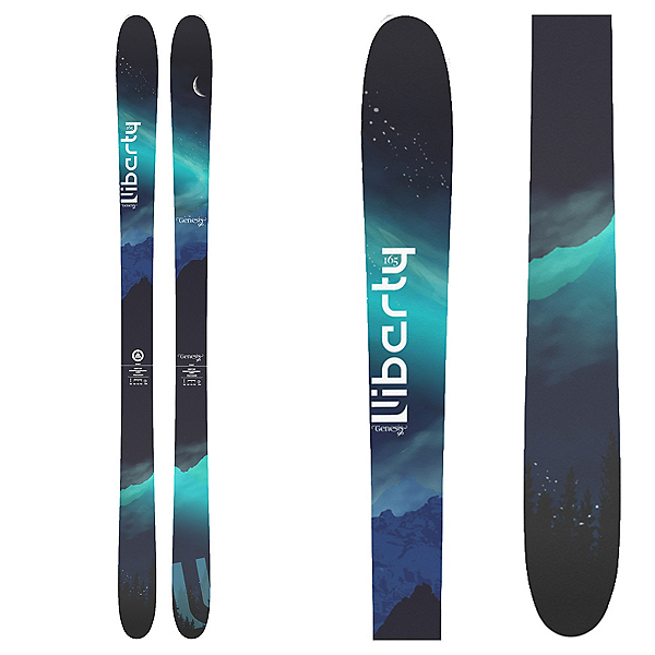 Liberty Skis Genesis 96 Womens Skis, , 600