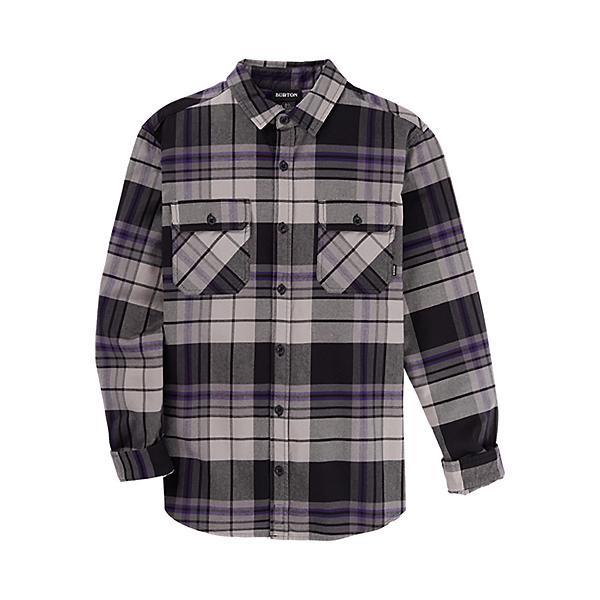 Burton Brighton Premium Flannel Shirt, Iron Gray Chunk, 600