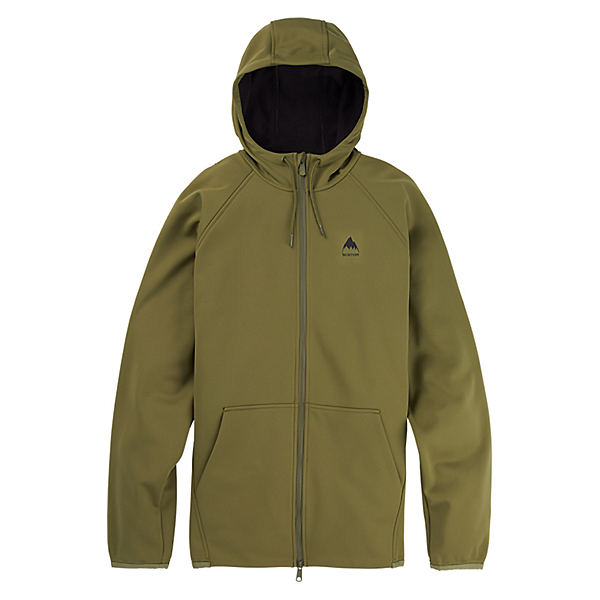 Burton Crown Weatherproof Mens Hoodie, Martini Olive, 600