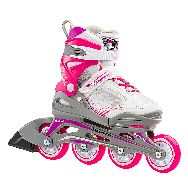 Bladerunner Phoenix Girls Adjustable Inline Skates, , 600