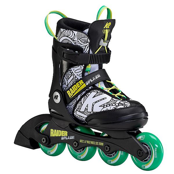 K2 Raider Splash Adjustable Kids Inline Skates, , 600
