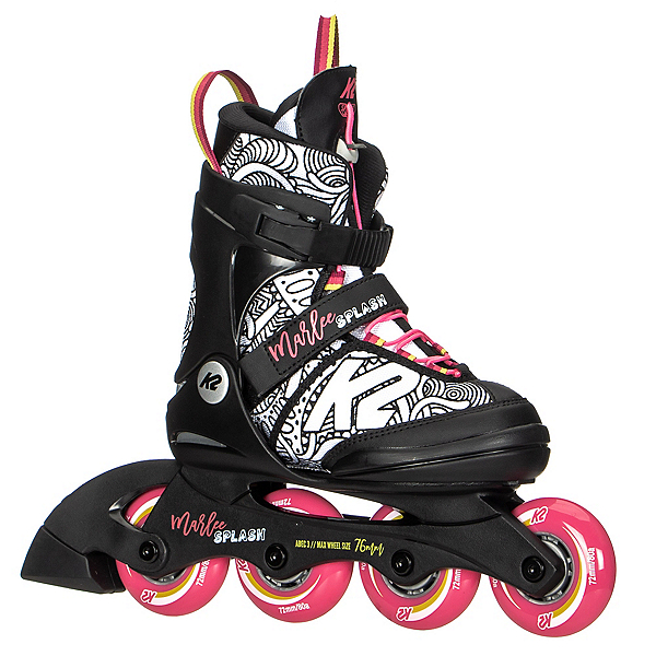K2 Marlee Splash Adjustable Girls Inline Skates, , 600